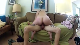 Cuck movies, preggo woman gets pounded