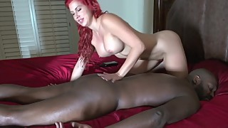 Lexigton steele get a sensual massage from a woman