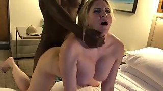 Orange heart aka hottwife09 get roughly fucked by a big black cock