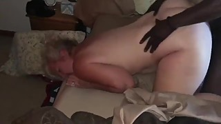 Wife laura with big black cock fucks
