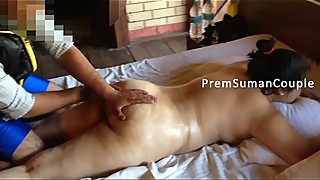 Desi wife added massage naked husband filming [part 2]
