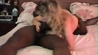 Classic hot wife fucks big black dick