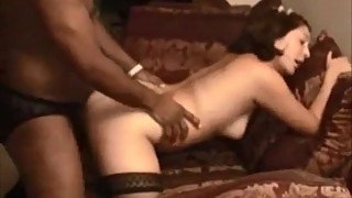 Shy wife first big black cock and a creampie cuckold
