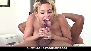 Shewillcheat - blond latina cuban wife love fat black cock